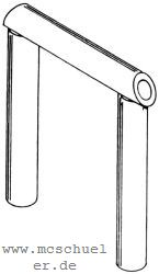 1:87 Gummischlauch schwarz, L=50cm für Übergang Führerhaus-Tender- Weinert 9471  | günstig bestellen bei Weinert-Bauteile