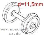 Ade - RP25 Scheiben-Radsätze achsmittig isoliert - Weinert 9729  - 2 Stück  | günstig bestellen bei Weinert-Bauteile