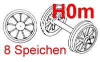 H0m Wagen Speichenradsätze, 2 Stück-Weinert 9755  | günstig bestellen bei Weinert-Bauteile