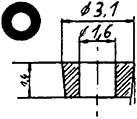 Isolierscheibe - Weinert 9879  | günstig bestellen bei Weinert-Bauteile