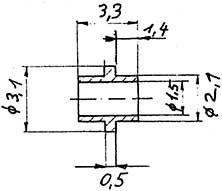 Buchse mit Ring, 2 Stück-Weinert 98881  | günstig bestellen bei Weinert-Bauteile