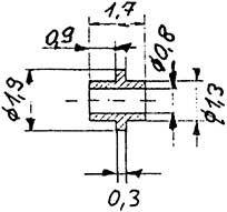Buchse mit Ring, 2 Stück-Weinert 98882  | günstig bestellen bei Weinert-Bauteile
