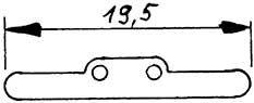 Isolierplatte für Stromabnehmer-Weinert 9889  | günstig bestellen bei Weinert-Bauteile