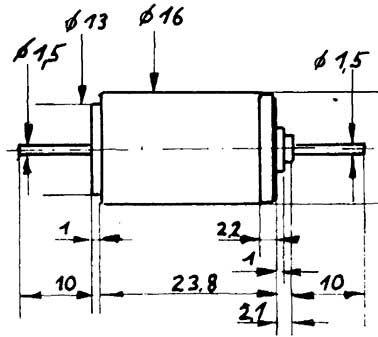 Faulhaber-Motor 1624 gewuchtet-Weinert 9903  | günstig bestellen bei Weinert-Bauteile