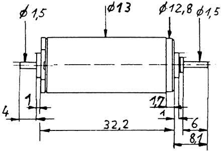 Faulhaber-Motor 1331 gewuchtet-Weinert 9905  | günstig bestellen bei Weinert-Bauteile