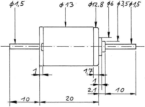 Faulhaber-Motor 1319, 12V gewuchtet-Weinert 9907  | günstig bestellen bei Weinert-Bauteile