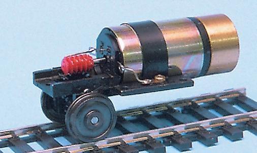 Einachs-Fahrwerk mit NEM-Radsatz, Faulhaber-Motor-Weinert 9930  | günstig bestellen bei Weinert-Bauteile