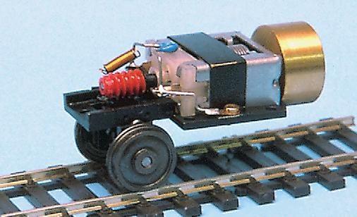 Einachs-Fahrwerk mit NEM-Radsatz, Mabuchi-Motor-Weinert 9931  | günstig bestellen bei Weinert-Bauteile