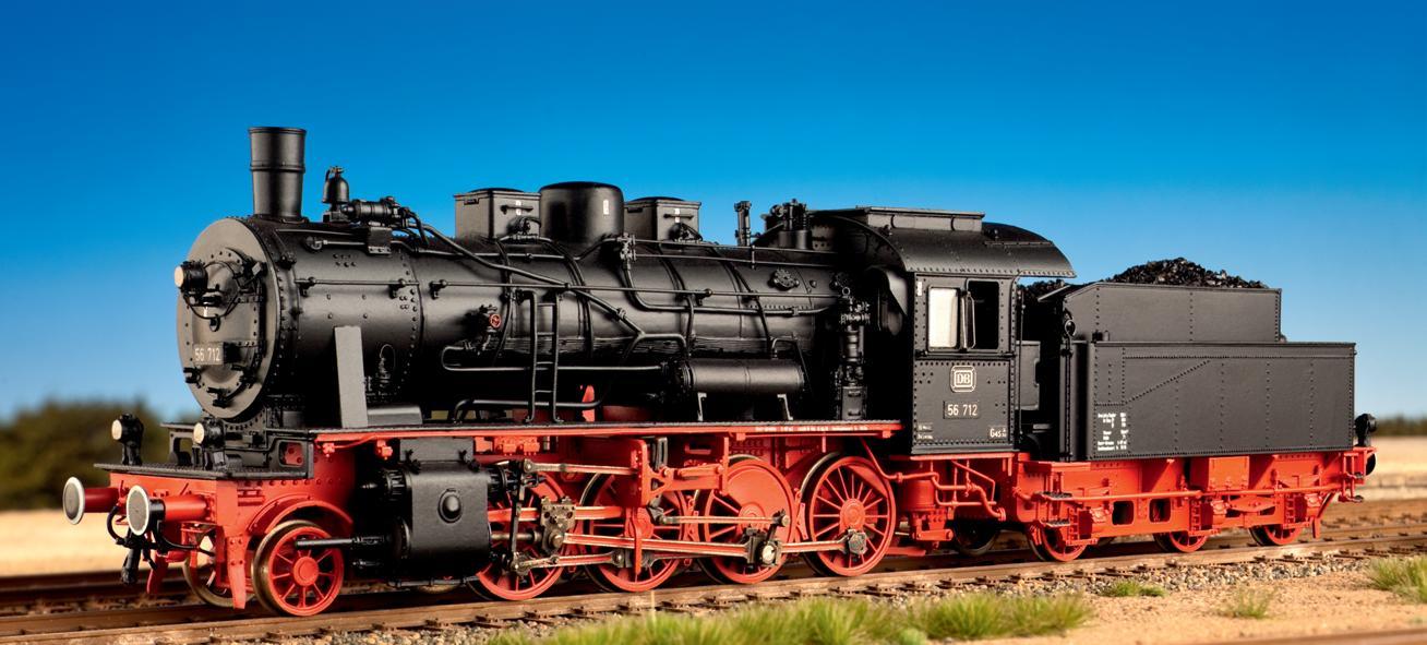DB BR 56.2-8, G8 mit Vorlaufachse, Komplettbausatz - Weinert 100089  - mit NEM-Radsätzen + Faulhaber-Motor | günstig bestellen bei Weinert-Bauteile