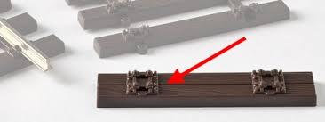Doppelholzschwelle mit Innendetaillierung - Weinert Mein Gleis 74009  - für RP25 und RP25 fine | günstig bestellen bei Weinert-Bauteile