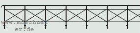 1:160 Geländer für Brücken und Begrenzung des Bahngeländes, 50cm lang - Weinert 6985  | günstig bestellen bei Weinert-Bauteile