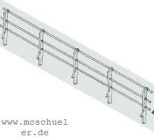 1:87 Geländer in Stangenform für Ufermauern, 70cm lang - Weinert 3253  | günstig bestellen bei Weinert-Bauteile