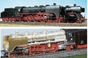 Mehr Details und Kaufen von DB BR 03 dritte Bauserie mit neuer Schleppachse - Weinert 4017  - Umbausatz für Roco BR 01 | günstig bestellen bei Weinert-Bauteile