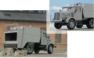 1:87 Faun M6 Müllwagen, Baujahr 1946-49 - Weinert 4594 der Kleinstadt-Müllwagen der 50-er und 60-er Jahre | günstig bestellen bei Weinert-Bauteile