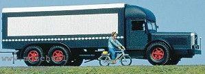 1:87 Henschel-LKW 36W3, Baujahr 1936 mit Kässbohrer Kofferaufbau - Weinert 4517  | günstig bestellen bei Weinert-Bauteile