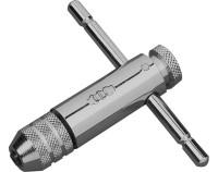 Werkzeughalter mit Rechts- und LInksgang  - für Gewindebohrer M1 bis M 4 ( Schaft Ø 2,0 bis 4,5 mm
