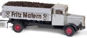 1:87 Büssing Kipper mit hohen Bordwänden + Ausschütteinrichtung zum Körbefüllen - Weinert 45001  | günstig bestellen bei Weinert-Bauteile