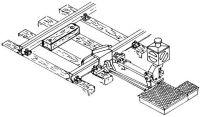 1:87 Gleissperre für C100-Gleis, beleuchtet, funktionsfähig - Weinert 7226