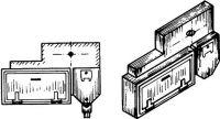 1:87 Sandkasten mit Werkzeugkasten rechts, 2 Stück- Weinert 8777